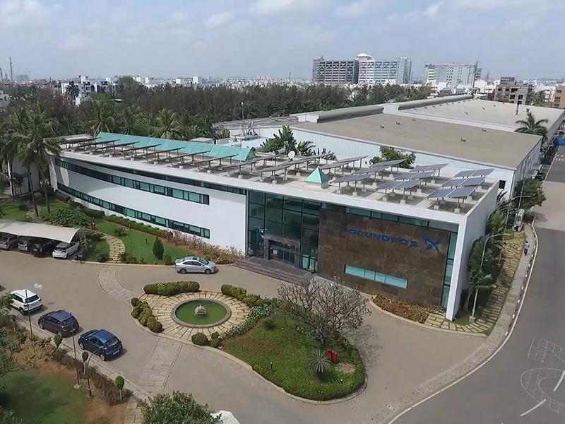 Grundfos India's facility receives the prestigious 'LEED Platinum' certification