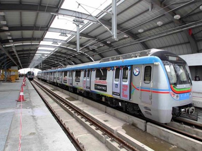 AP speeds up 79-km long metro rail project