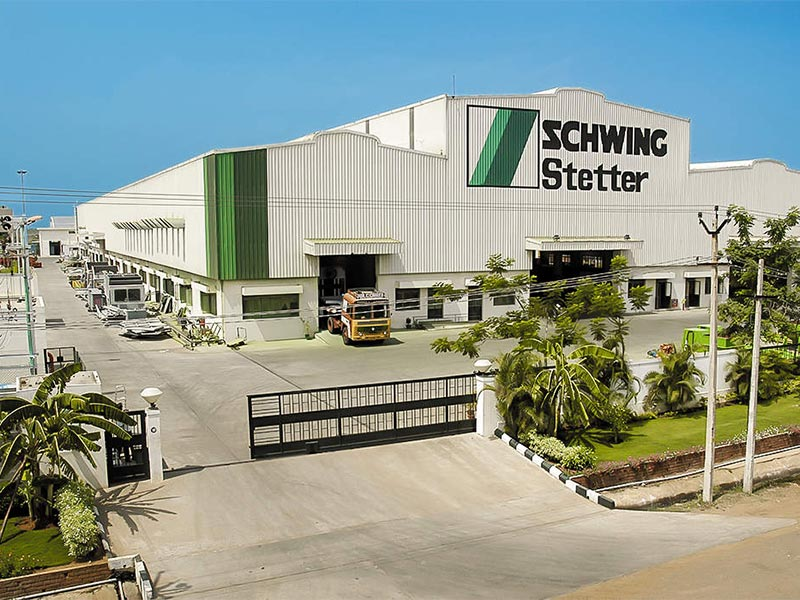 Schwing Stetter India resumes operations at Chennai Plant