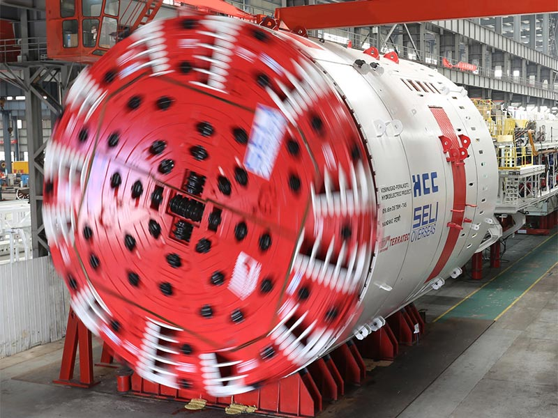 Tunnel Boring Machine (TBM) T61