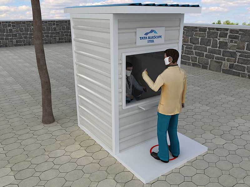 Tata BlueScope Steel launches easy to install, modular life-care structures to combat COVID-19