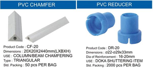 PVC Cones Formwork Cones