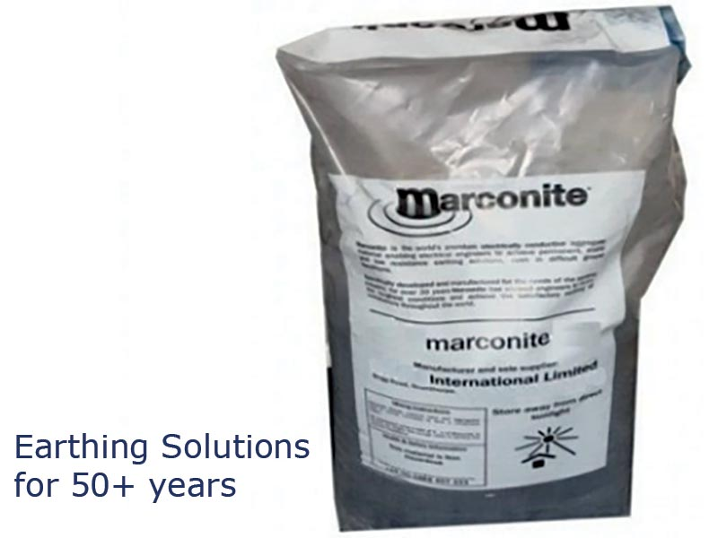INTER TECH offers Marconite - a safe, sustainable earthing system