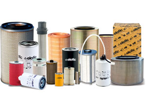 Elofic Construction Equipment Filters