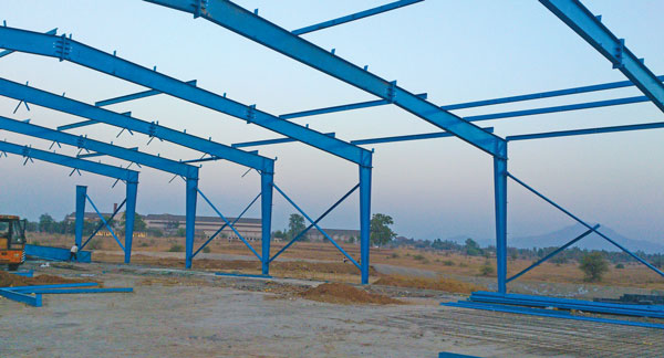 Satec Pre-Fabricated Structure