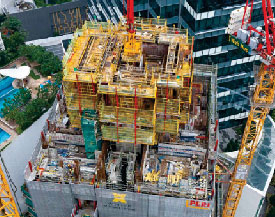 PERI's Scaffolding and Formwork Solutions for High-rise