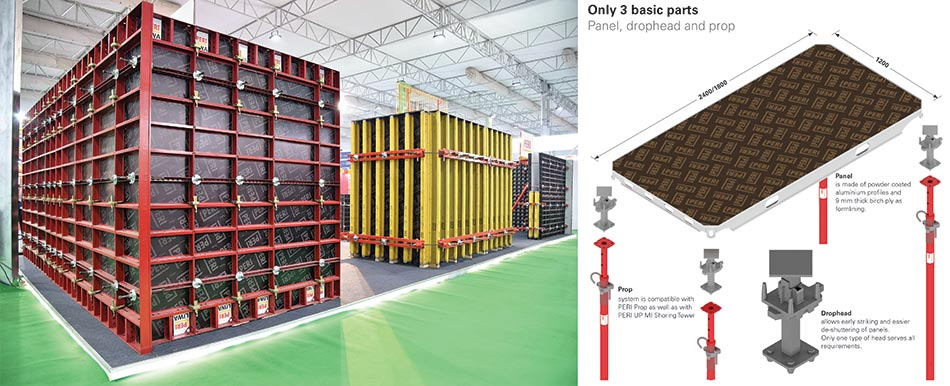 PERI India launches ALPHADECK - large area slab formwork system