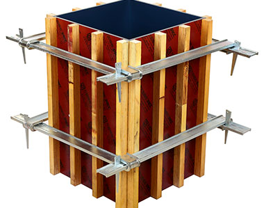 Square circle formwork® makes concrete construction easier, faster, cheaper.