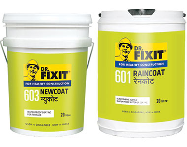 Dr. Fixit Raincoat for Healthy Construction