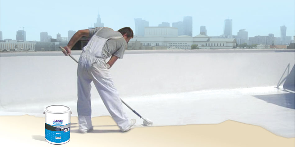 Waterproofing Solution With Epoxy And Pu