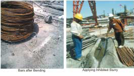 Anti-Corrosive Treatment for Reinforcement Bar