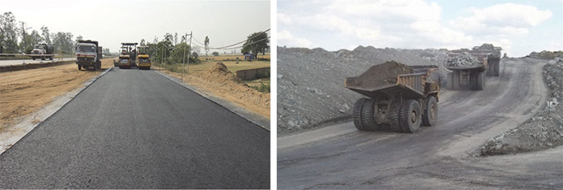 SoilTech Mk  III Polymer Stabilizer Saves Significant Road