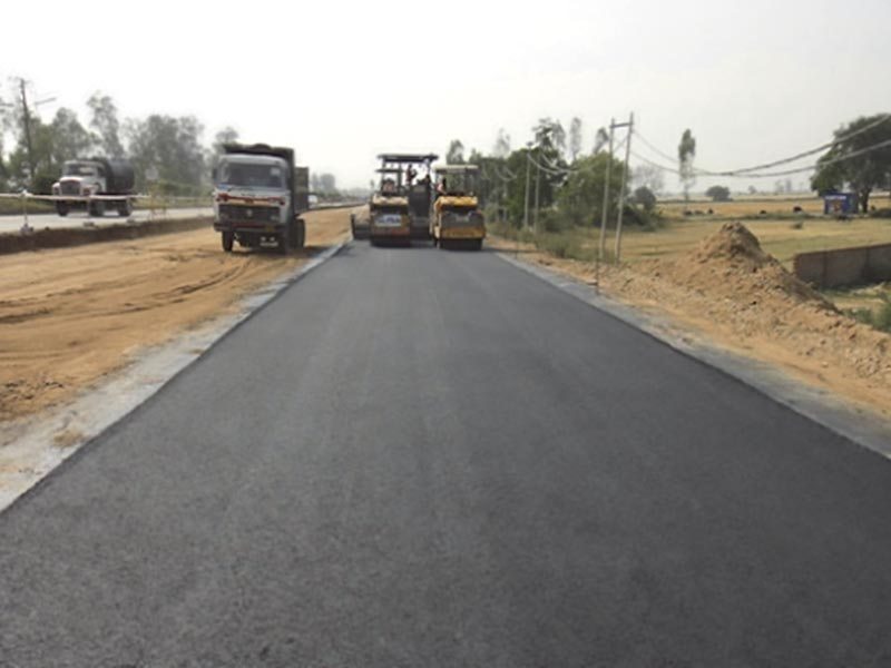 Polymer Smart Materials & Technologies for Road Construction