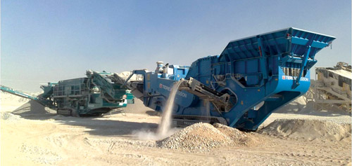 Powerscreen's Mobile Equipment' Success in Oman