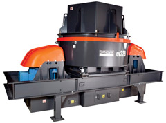 New Sandvik CV200-series VSI Crushers