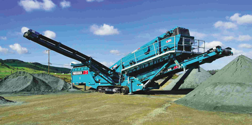 Powerscreen India Serves Oman