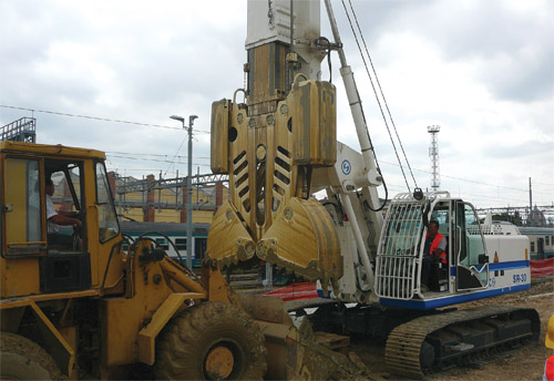 Soilmec's Drilling & Foundation Equipment