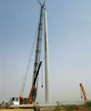 Liebherr Crawler Crane at Indian Windfarm Site