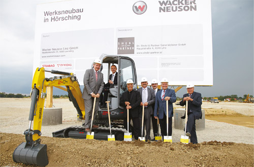 Wacker Neuson – Starts New Construction