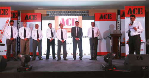 ACE Launches ACX 750 Crawler Crane