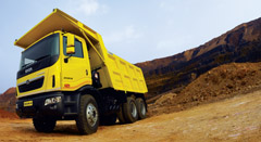 Tata Motors Launches Prima and Tippers for Mining and Road Construction