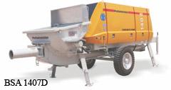 stationary concrete pump,Mobile Line pump,S-valve Concrete Pump