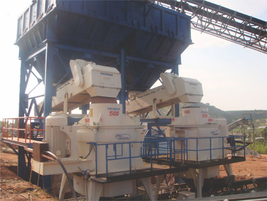 PROMAN Crushers Produce Manufactured Sand
