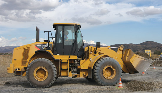 Cat® 950H Loader –'Moving More and Making More'