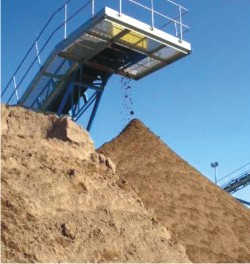 Production of Sands