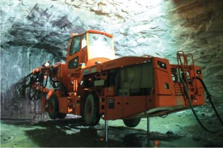 Sandvik Drills Brazilian Tunnels