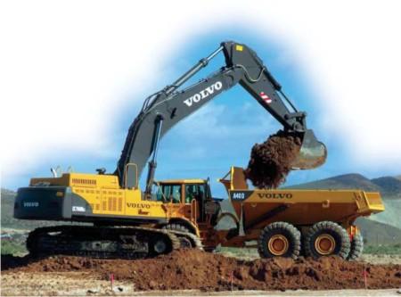 Volvo - EC700 BLC Excavator & G930 Motor Graders