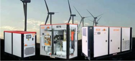 Wind Energy with Elgi Compressors