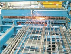 Inductively Welded Pre–fabricated Reinforcement for Concrete Products