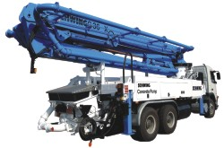 Truck-mounted Concrete Pump S-36