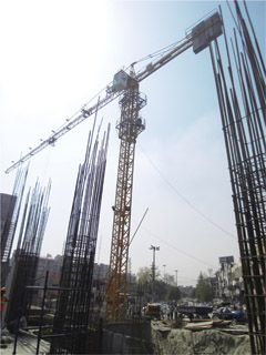 New Development in India Takes Shape with Potain Crane