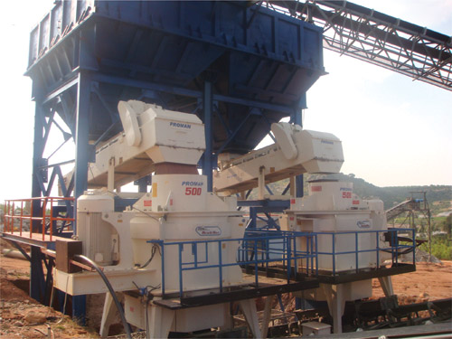Manufacturing Sand For Concrete With Proman Crushers