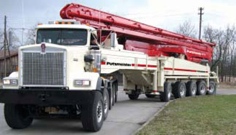 Putzmeister Presents the Largest Truck Mounted Concrete Pump