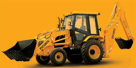 Construction, earthmoving & material handling equipment  from Escorts