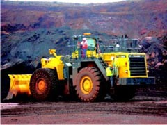L&T Mega Mining Wheel Loader